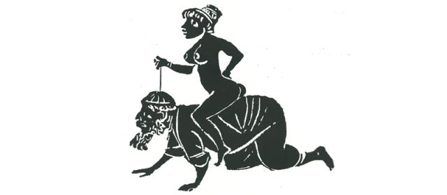 Phyllis montando a Aristóteles (Peter Meller)