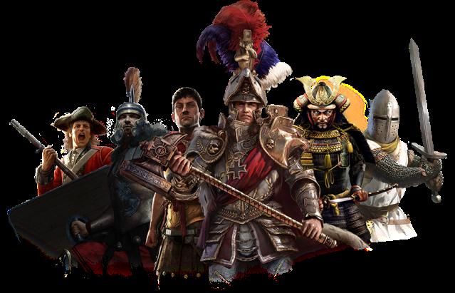 Total War AKA La Historia de los Grandes Hombres.