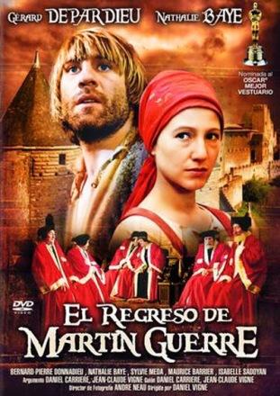 Cartel de la película francesa El regreso de Martin Guerre (1982).