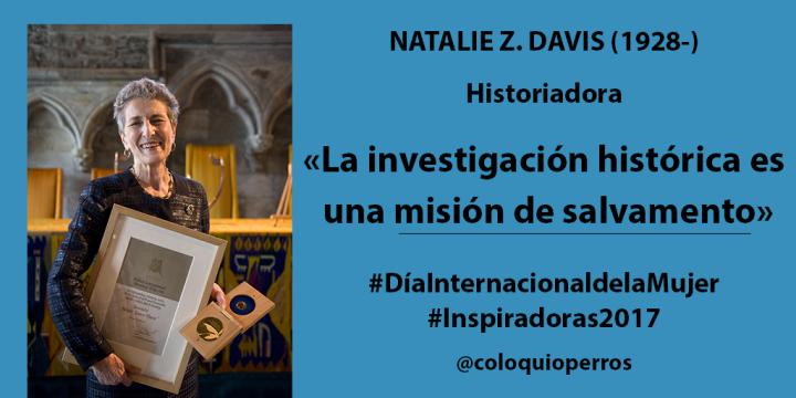 Natalie Zemon Davis (#Inspiradoras2017)
