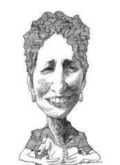 Imagen de la columna de Davis en The NY Review of Books.