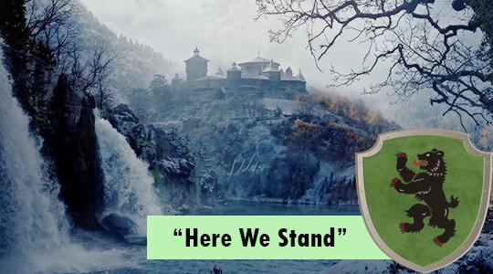 La Isla del Oso en la serie JdT, bastión de la Casa Mormont.