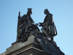 Monumento a Isabel la Católica y Colón (Granada). Mariano Belliure y Gil (1892).