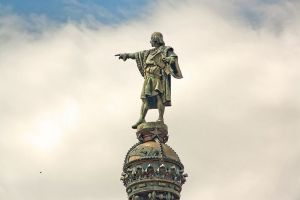 Monumento a Colón (Barcelona). Gaietà Buïgas i Monravà (1888)