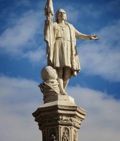 Monumento a Colón (Madrid). Arturo Mélida y Jerónimo Suñol (1881 y 1885).
