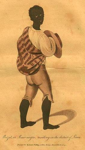 Bozal del Perú (Richard Phillips, 1805)