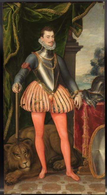 Retrato anónimo (1575) de don Juan de Austria (Museo del Prado y Patrimonio Nacional)