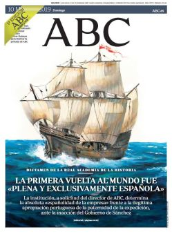 Portada de ABC con ilustración de Dalmau Ferrer