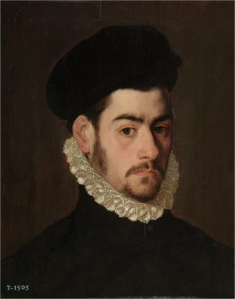 Posible autorretrato de Antonio Sánchez Coello (Museo del Prado)