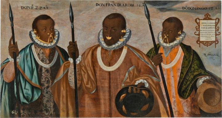 Los caciques negros de Esmeraldas. La historia detrás de uncuadro