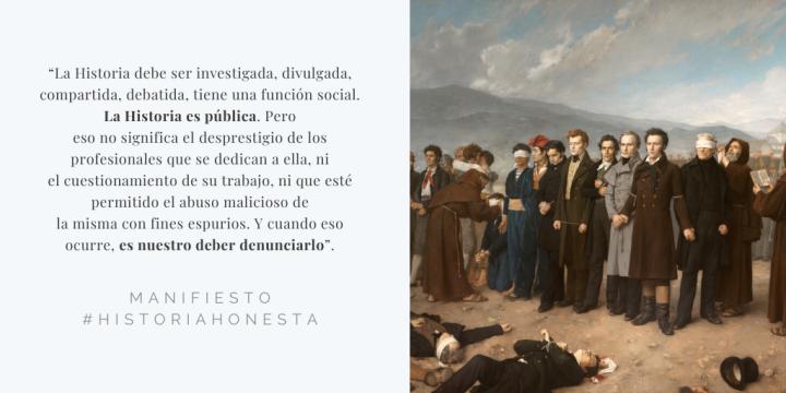 Manifiesto por una Historia honesta #HistoriaHonesta