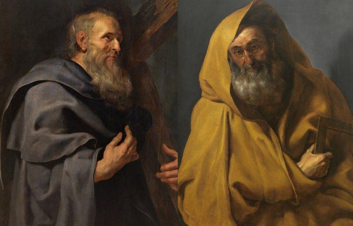 Los santos Felipe y Santiago, contrarios al Imperio romano.